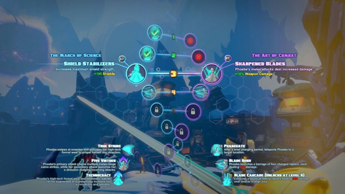 Battleborn Skill Tree Helix Choice