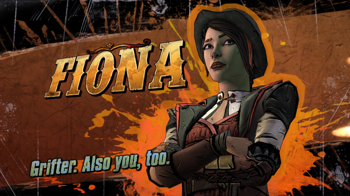 Tales from the Borderlands Telltale Games Gearbox Fiona
