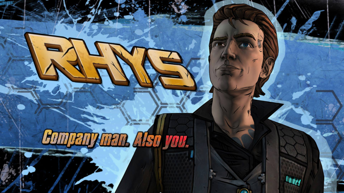 Tales from the Borderlands Telltale Games Episodic Gaming Rhys