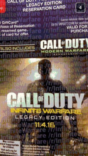 Call of Duty Infinity Warfare Modern Warfare Leak