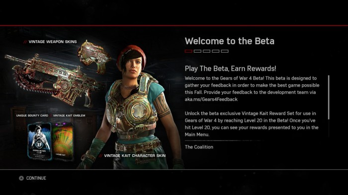 Gears of War 4 Beta Screencap