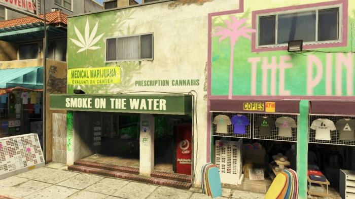 GTA Smoke on the Water