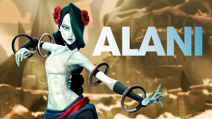 Battleborn Alani MOBA Free Character DLC