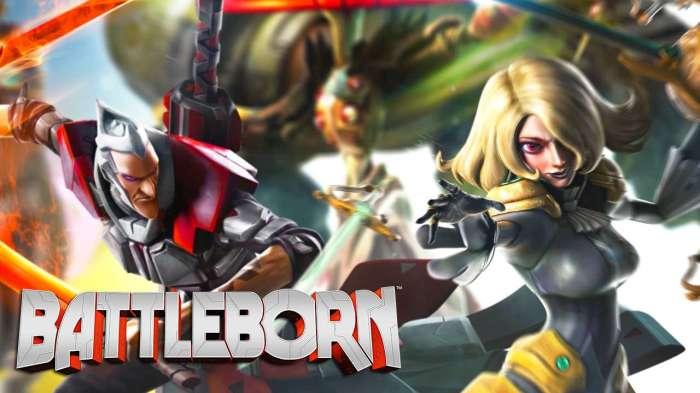 Battleborn Badass Characters MOBA FPS