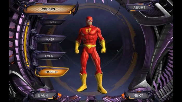 DCUO DC Universe Online The Flash Character Creation