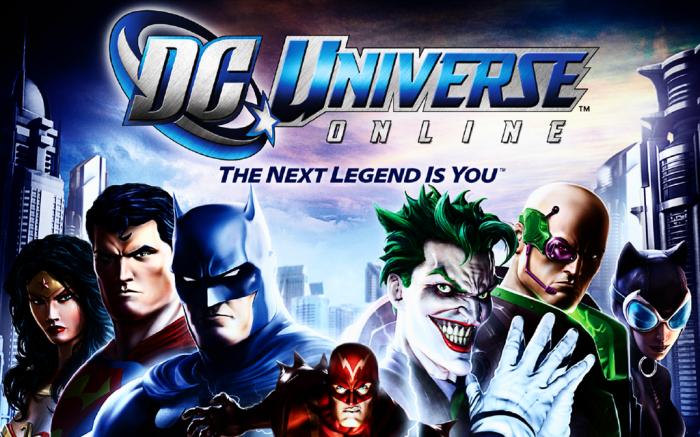 DC Universe Online DCOU Batman Superman The Joker The Flash