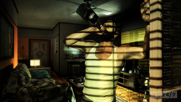 Max Payne 3 Rockstar Remedy Entertainment Dark