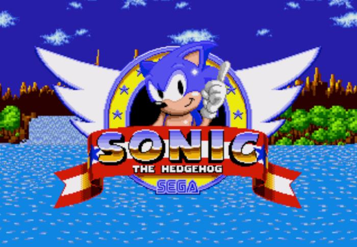Sonic the Hedgehog Sega Hall of Fame Video Game