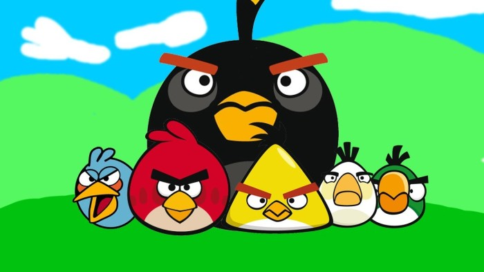 ANgry Birds Mobile Game Smartphone Gaming
