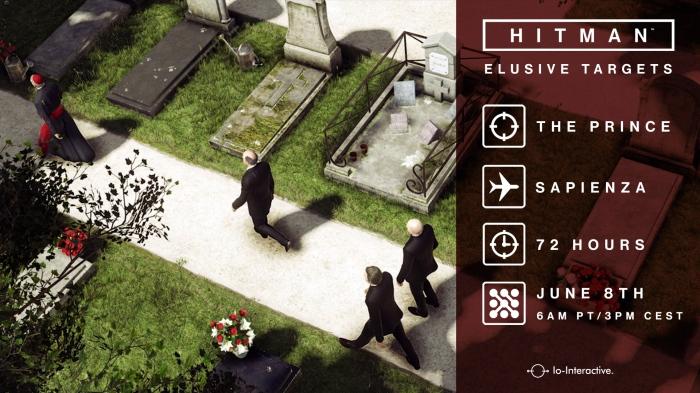 hitman elusive target io interactive prince sapienza