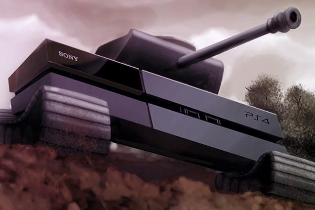 PlayStation 4 Sony Microsoft Xbox One Console War