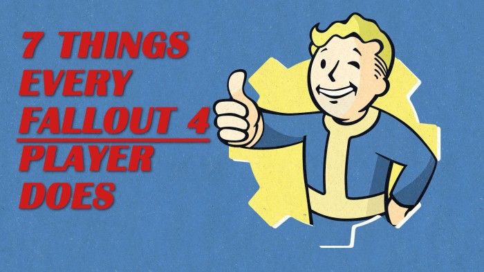 Fallout 4 Bethesda RPG Video Game Players