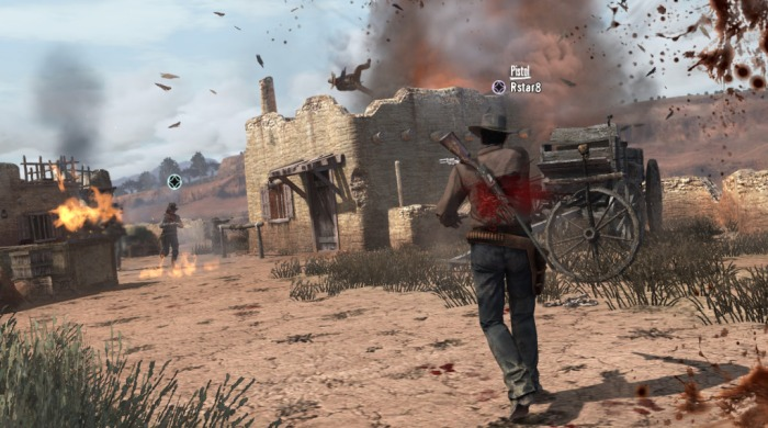 Rockstar Red Dead Redemption John Marston Single Player Multiplayer