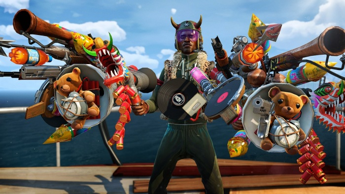 Sunset Overdrive weapons armour mad