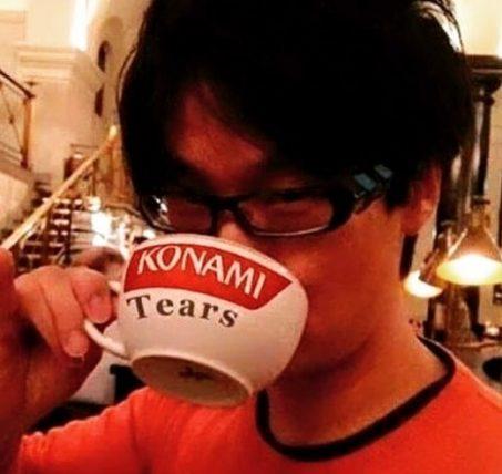 Metal Gear Solid Metal Gear Survive 4-player co-op survival zombie Konami Hideo Kojima tea cup tears